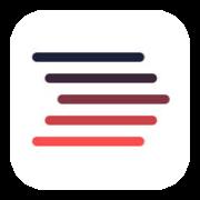 Logo for app'en Biblioteket
