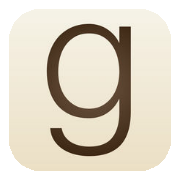 Logo for app'en Goodreads