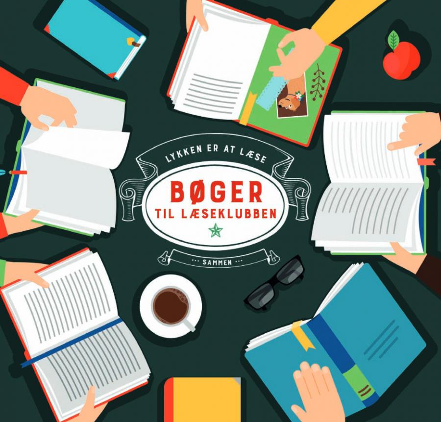 Flere bøger til læseklubben