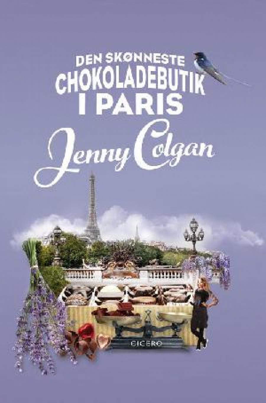 Forsiden af Den skønneste chokoladebutik i Paris