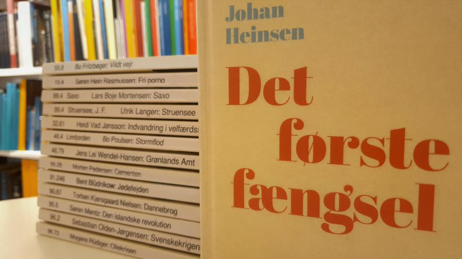 Her kan du se nogle af de bøger, der allerede er udkommet i serien 100 danmarkshistorier.