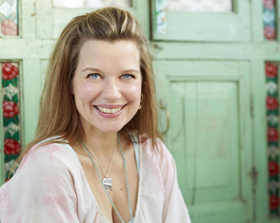 Forfatteren Emma Hamberg fotograferet af Peter Knutson