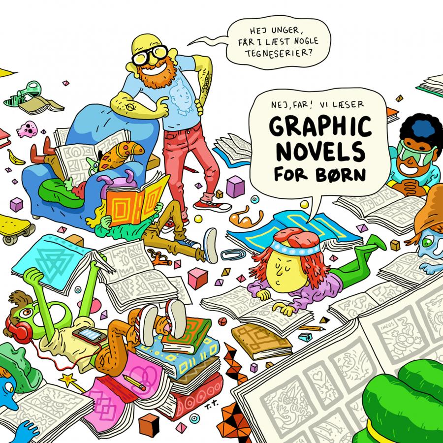 Graphic novels for børn