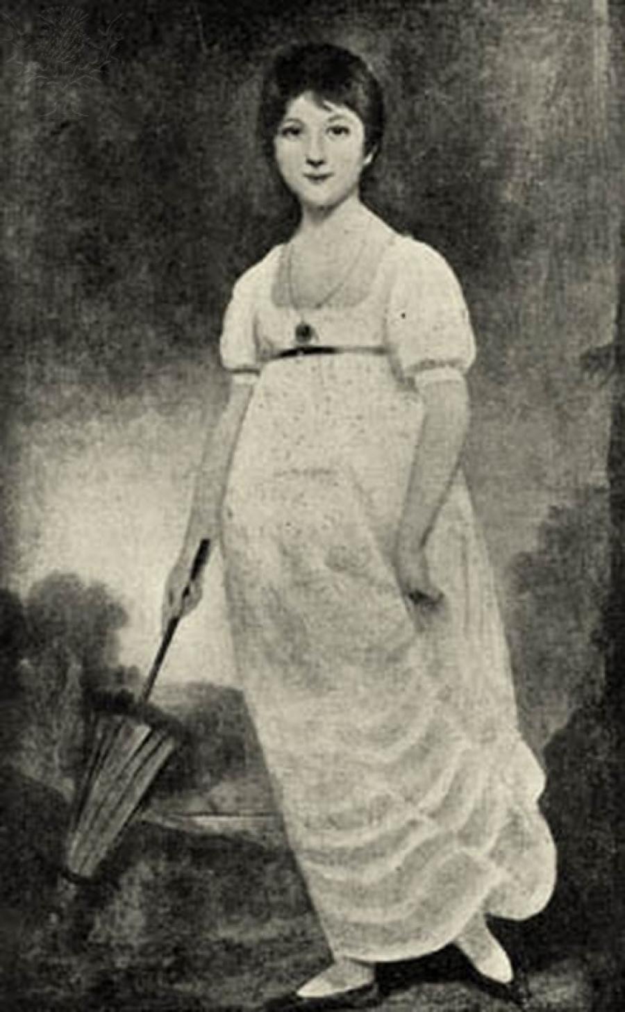Jane Austen som ung kvinde