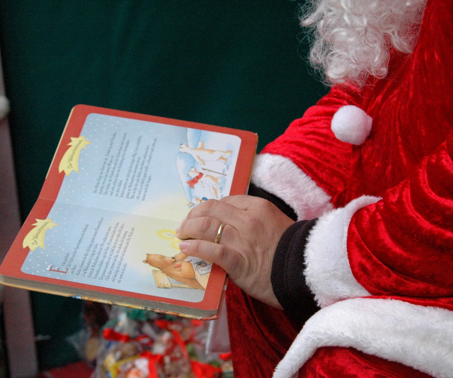 I mange familier er der tradition for at læse julefortællinger i december