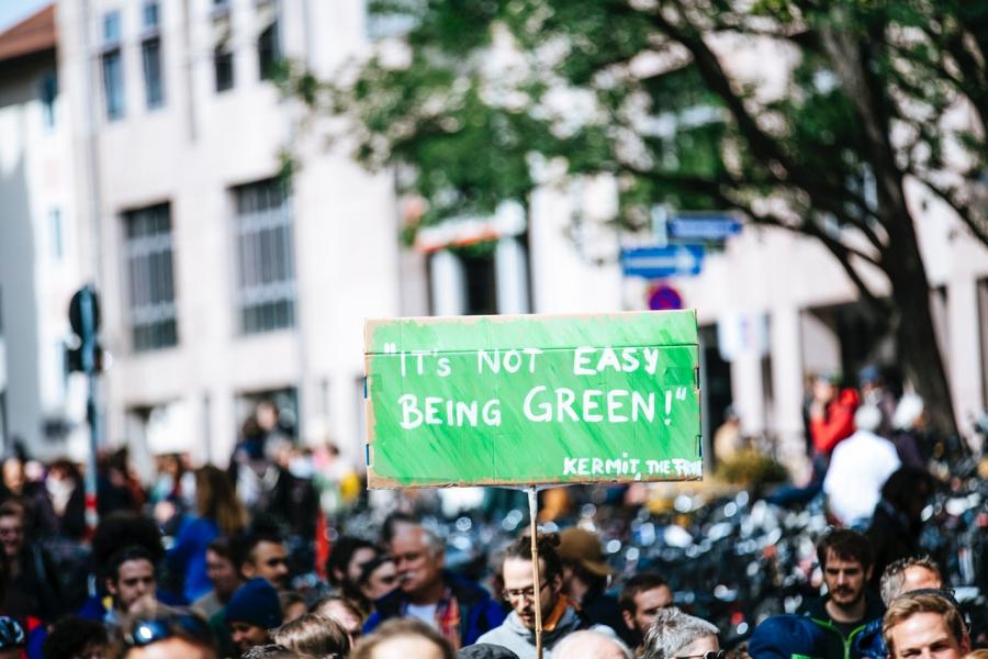 Klima-demonstration