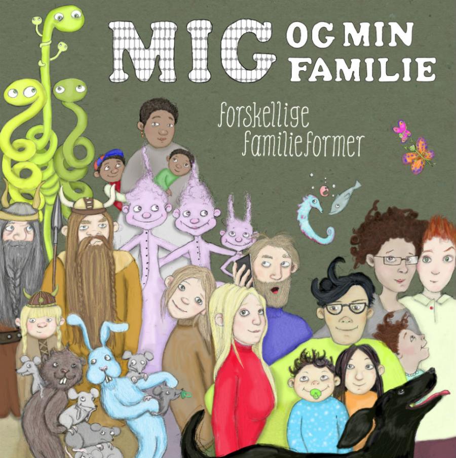 Ifølge Danmarks Statistik findes der i Danmark hele 37 måder, at være familie på.