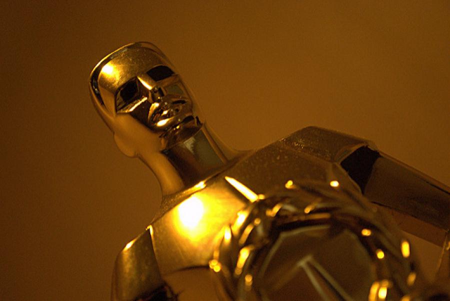 En Oscar-statuette fotograferet af Davidlohr Bueso