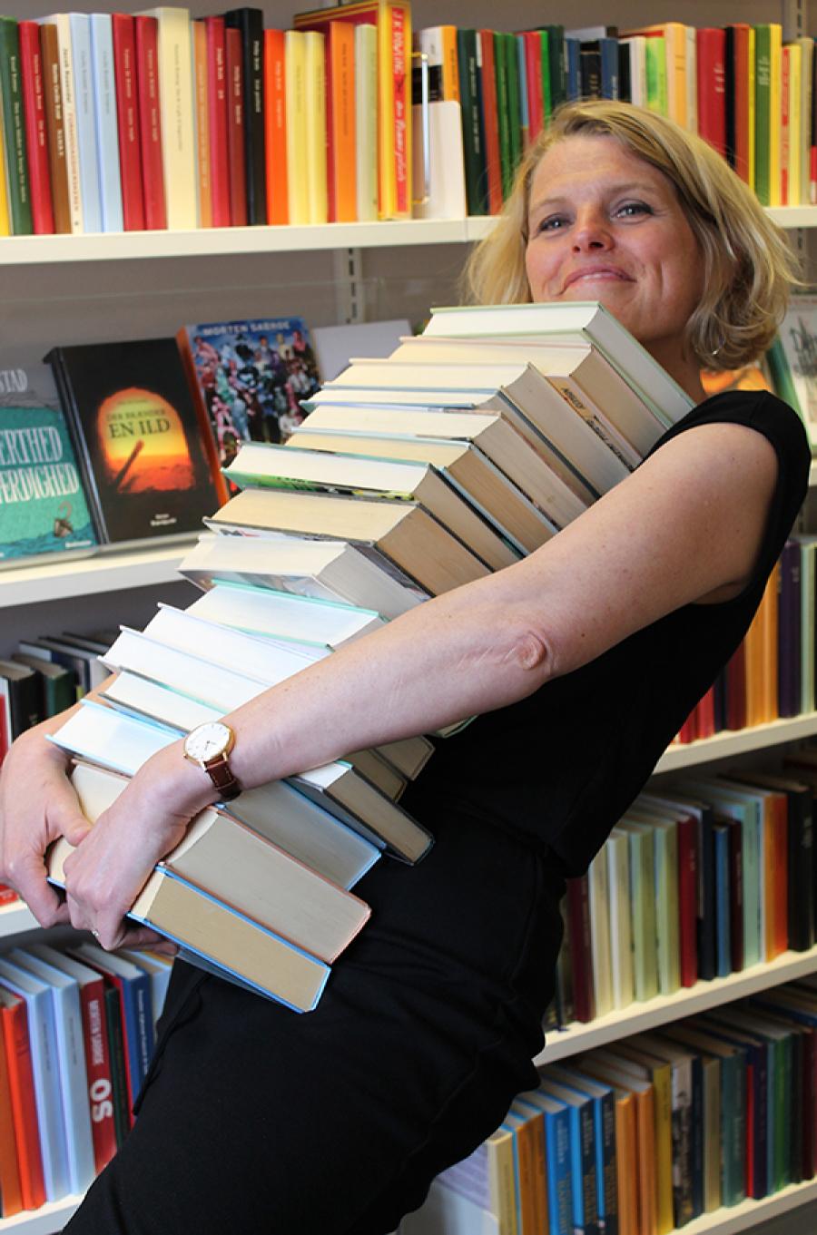 Bibliotekar Randi Peteresen